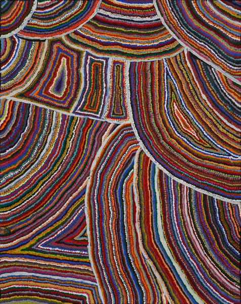 Ngayuku Ngura Samuel Miller Acrylic on canvas