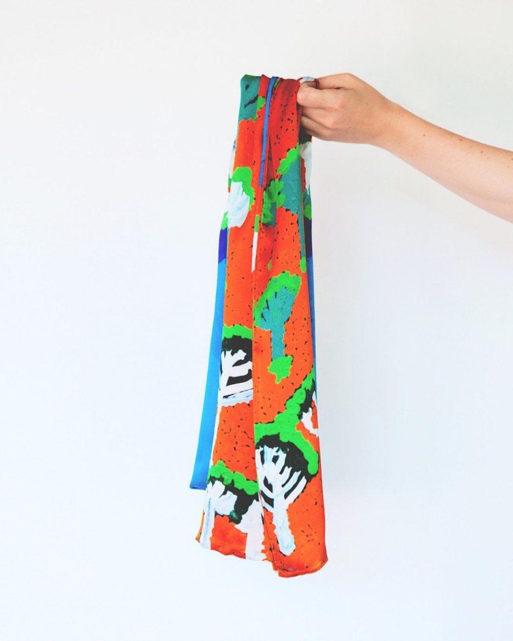 Scarf Pukara Monica Watson | Silk Scarves Australia