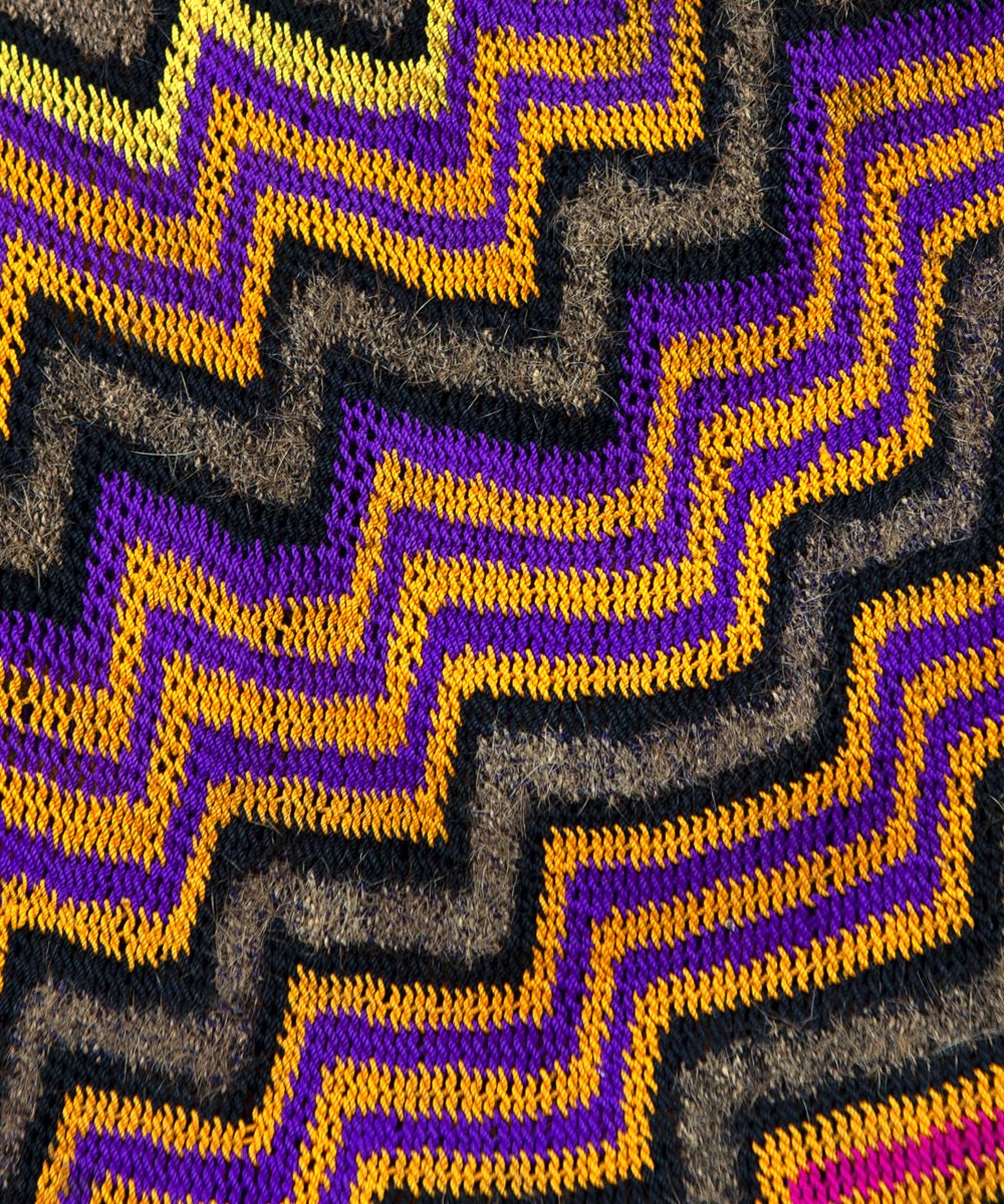 Bilums from Papua New Guinea - Snake by Margaret