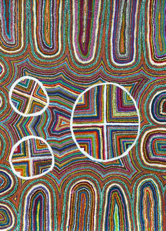 Ngayuku Ngura Samuel Miller Acrylic on Canvas 2016